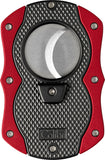 Colibri Monza Cut Cigar Cutter Black + Red - CU200T003 - Cigar Manor