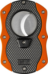 Colibri Monza Cut Cigar Cutter Black + Orange - CU200T004 - Cigar Manor