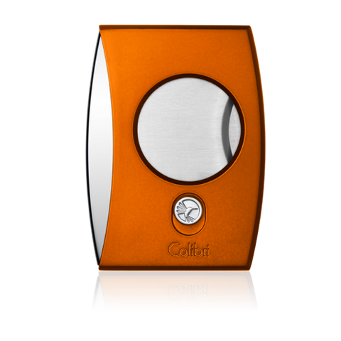 Colibri Eclipse Cutter Anodized Orange + Polished Chrome
