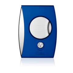 Colibri Eclipse Cutter Anodized Blue + Polished Chrome - CU300D010 - Cigar Manor