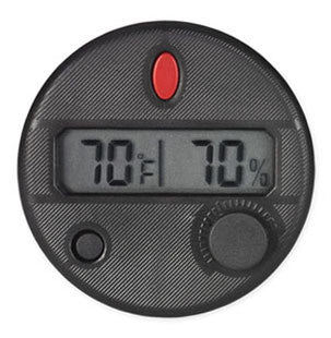 HygroSet Round Front Mount Digital Hygrometers