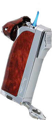 Vector Dupla 10 Mahogany Lacquer Pipe-Torch Combo - Dupla_10 - Cigar Manor