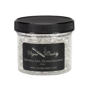 Cigar Caddy Crystal Gel Humidifier Jars 4 oz.
