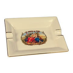 La Aroma de Cuba Classic Rectangular Ashtray
