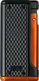 Colibri Monza 3 Lighter Black + Orange - LI100T008 - Cigar Manor