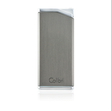Colibri Delta Soft Flame Lighter Gunmetal + Chrome - LI300C2 - Cigar Manor