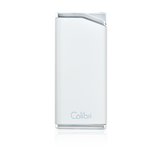 Colibri Delta Soft Flame Lighter White - LI300C5 - Cigar Manor