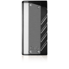 Colibri Torque Double Torch Lighter Gunmetal + Black - LI300T002 - Cigar Manor
