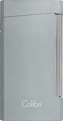 Colibri Voyager Lighter Metallic Gray - LI400D002 - Cigar Manor