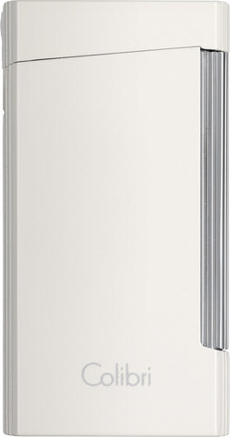Colibri Voyager Lighter Metallic White