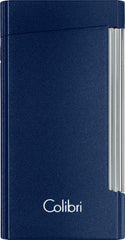 Colibri Voyager Lighter Metallic Blue - LI400D004 - Cigar Manor