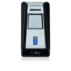 Colibri Stealth 1 Lighter Black - LI400T1 - Cigar Manor