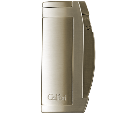 Colibri Enterprise 2 Double Torch Lighter Satin + Titanium