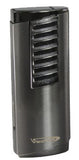 Vector Shield 02 Gunmetal Satin Lighter - Shield_02 - Cigar Manor