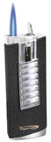 Vector Shield 05 Black Crackle Matte Lighter - Shield_05 - Cigar Manor