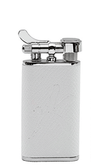 Kiribi Kabuto Shiroi Lighter - 011-632-0016 - Cigar Manor