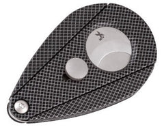 XIKAR Xi2 Guillotine Cigar Cutter Mesh Look - XI-28122 - Cigar Manor