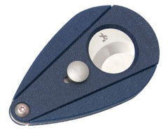 XIKAR Xi2 Guillotine Cigar Cutter Blue (Lapis) - XA-28105 - Cigar Manor