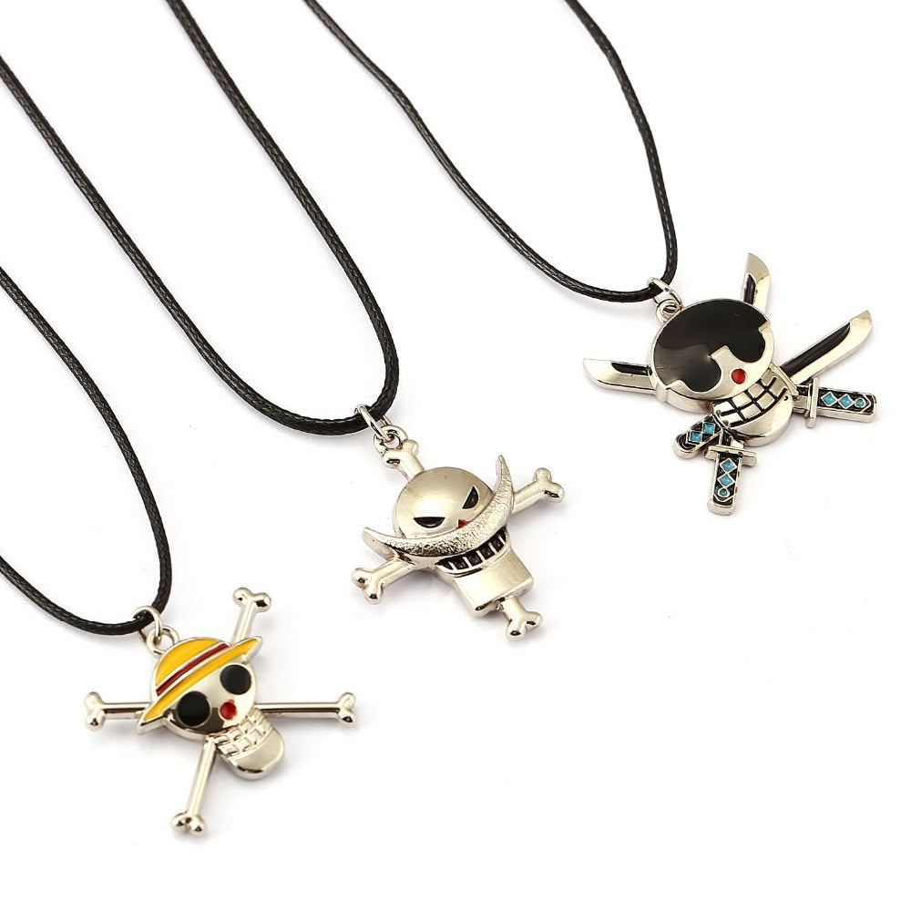 Necklace Roronoa Zoro Edward Luffy Pendant