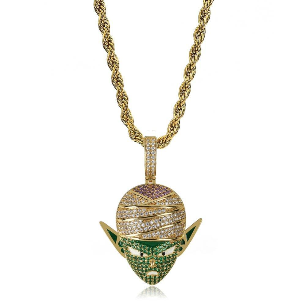 Iced Out Piccolo Pendant