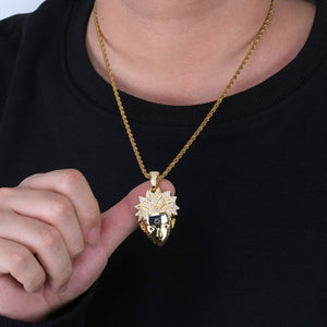 Gold Naruto Necklace