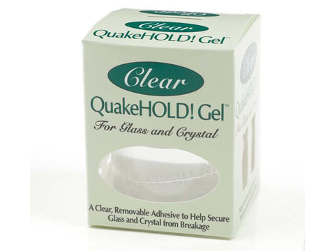 QuakeHOLD! Gel- For Glass and Crystal