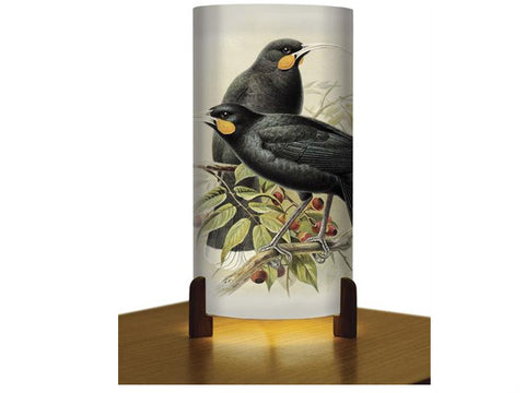 Huia Table Lamp - Bullers Birds