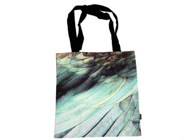 Kereru Feather Tote Bag