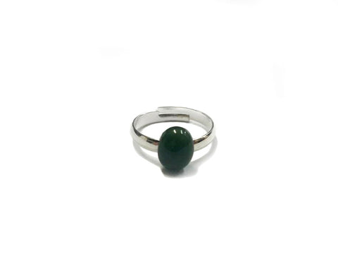 Pounamu Adjustable Ring