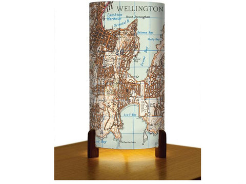 Historical Map Wellington Lamp