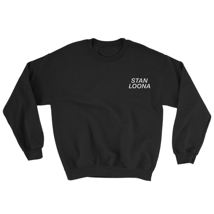 STAN LOONA embroidered crewneck