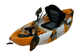 Kids Kayaks - Baby Dragon  Pro Fisher Kayak - Tiger Eye