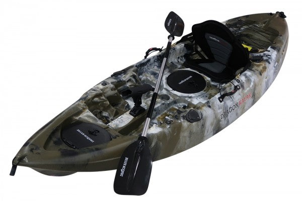 Single Seater Fishing Kayak - Desert Storm