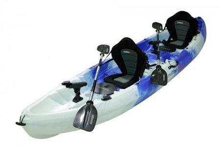 2.5 Seater Fishing Family Kayak - Blue White