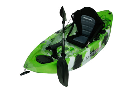 Kids Kayaks - Baby Dragon  Pro Fisher kayak - Amazon Camo