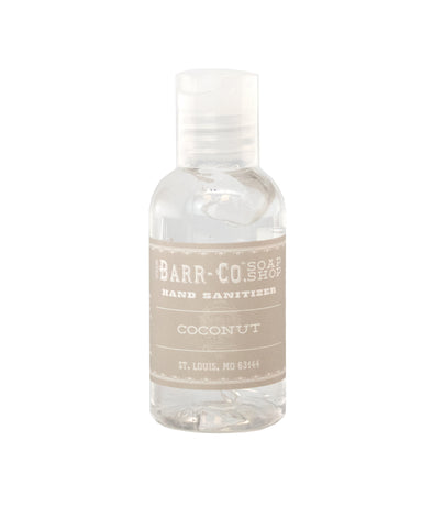 Travel Size Hand Sanitizer - Coconut