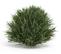 Green Grass Half Orb - Large