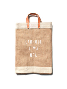 Carroll Iowa Market Bag