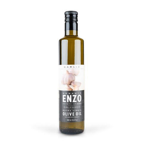 Organic Garlic Infused Olive Oil
