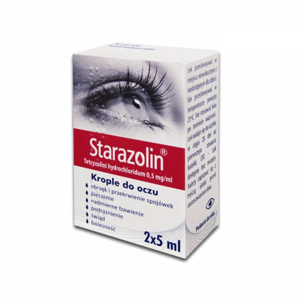 Starazolin UK- Krople do oczu 10ml, APTEKA POLSKA W UK