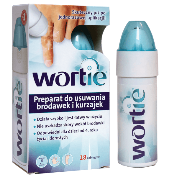 Wortie, preparat do usuwania brodawek i kurzajek, 50ml, UK apteka , UK shop online