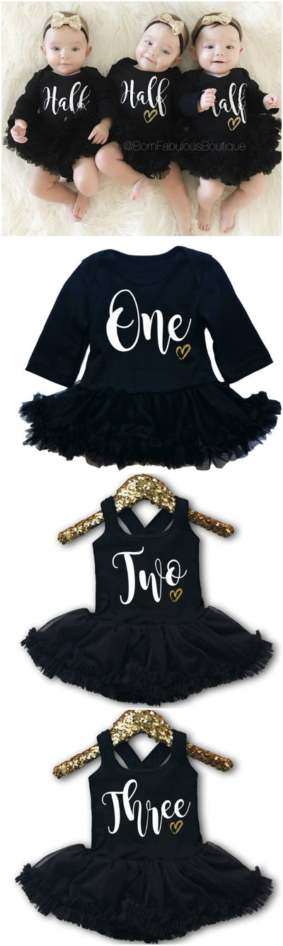 Baby Girl Half Birthday Outfits