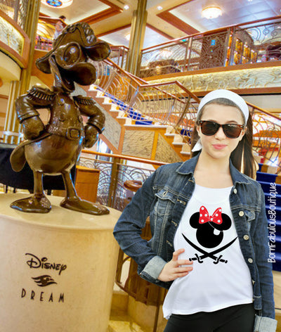 Disney Cruise Pirate Shirts For Your Whole Family!