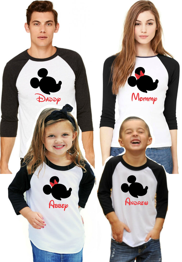 Matching Disney Family Shirts - New Styles Added!
