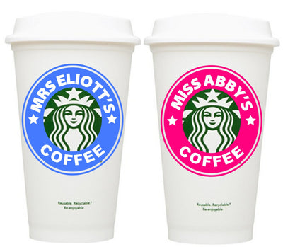 End Of Year Teacher Gifts - Starbucks Cups