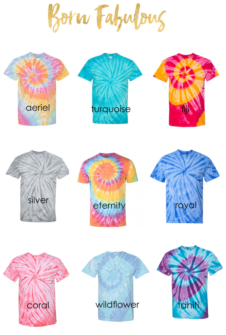 Tie Dye Shirt for Women - Blessed Life