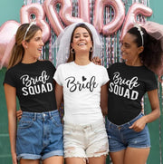 Bride Squad Bridal Party Shirts
