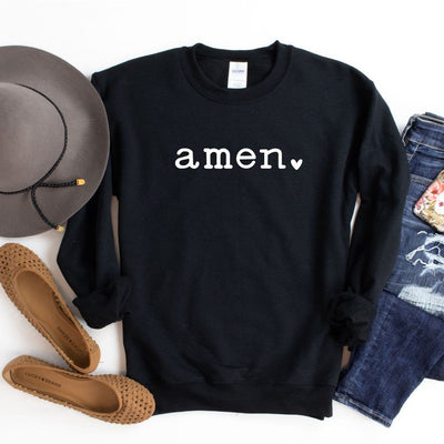 Women's Christian Shirt - Amen Sweatshirt