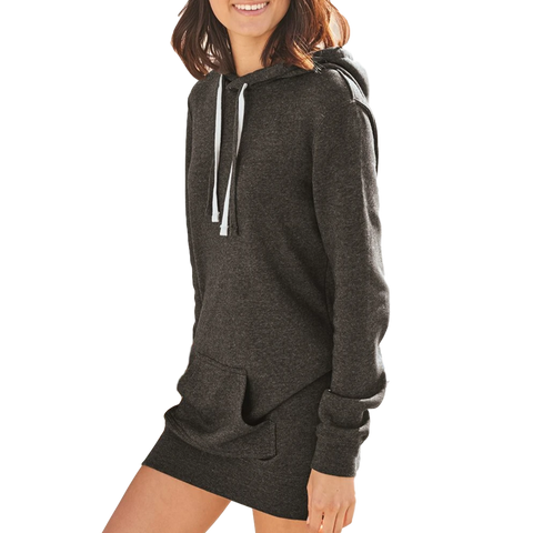 Tunic Sweatshirt Hoodie for Women