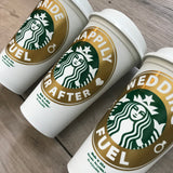 Gift For Bride To Be - Custom Starbucks Cups